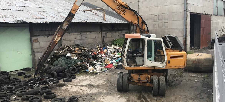 Odstranitev odpadkov