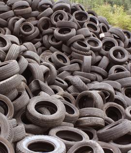 Reciklaža izrabljenih gum