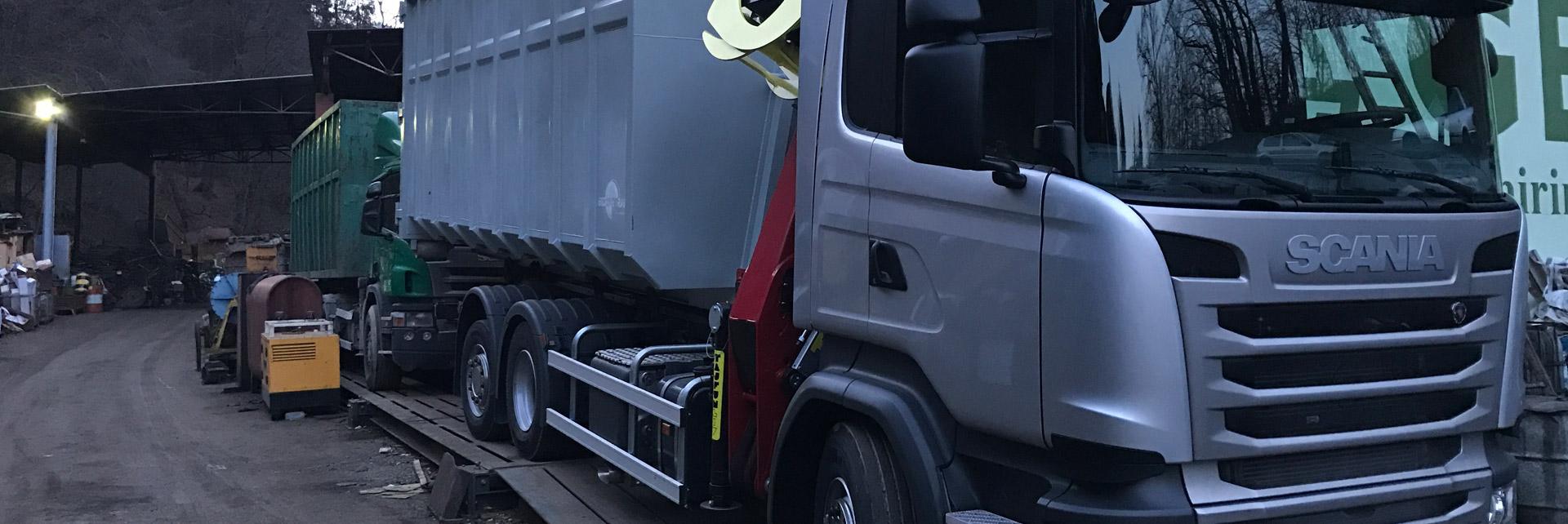 Prevoz razsutih materialov